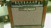 BEHRINGER ACOUSTIC AMP ULTRACOUSTIC AT108